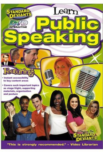 The Standard Deviants: Public Speaking [Instructional]