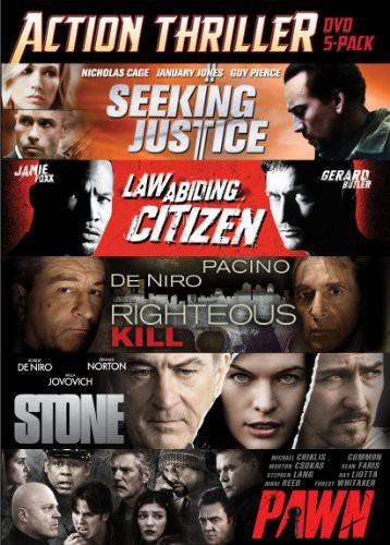 Action Thriller DVD 5-Pack