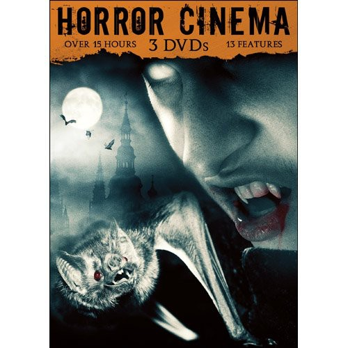 Horror Cinema, Vol. 1 [3 Discs] [Slimline Packaging]