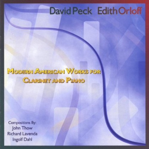 Modern American Works for Clarinet & Piano