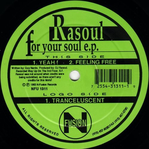 Rasoul: For Your Soul [EP]