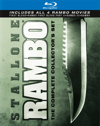Rambo: The Complete Collector's Set [WS] [Gift Set] [4 Discs]