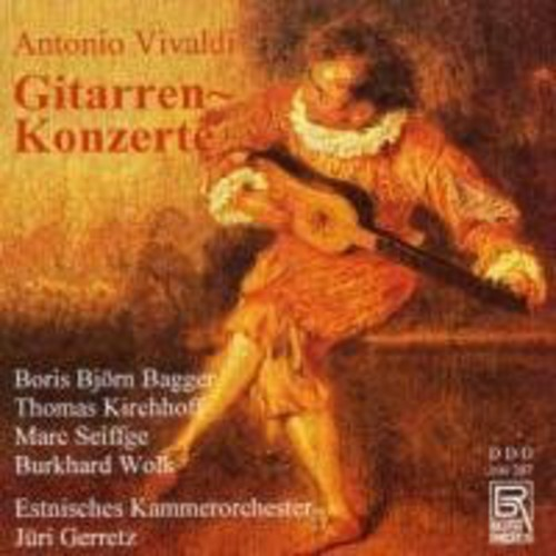 Guitar Concertos for 1 2 & 4 Guitars