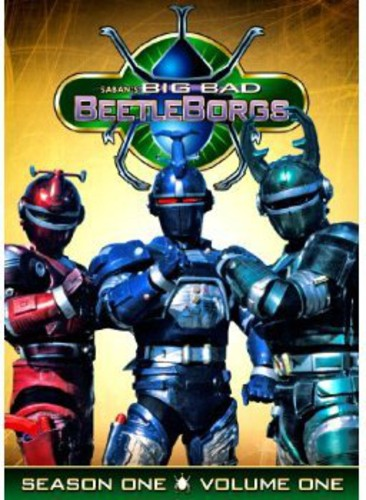 Big Bad Beetleborgs: Season One Volume 1