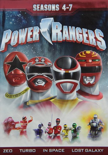 Power Rangers: Season 4-7