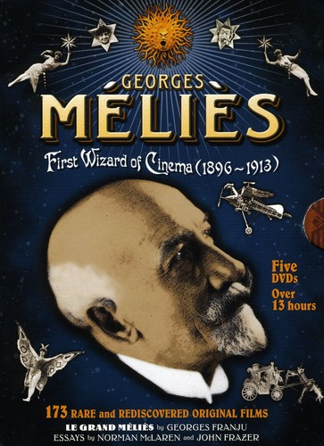 Georges Melies: First Wizard Of Cinema [5 Discs] [B&W]