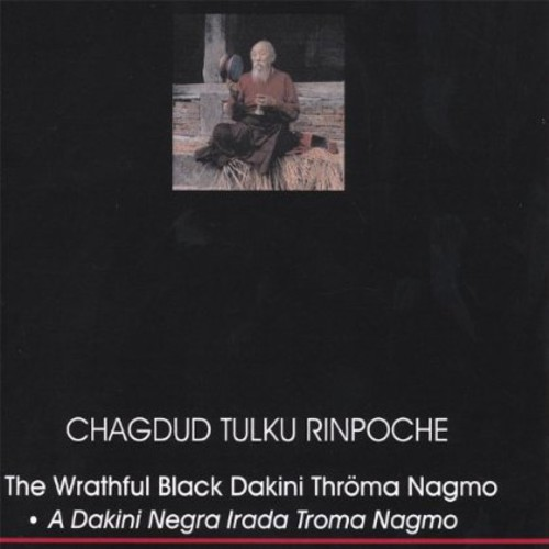 Wrathful Black Dakini Throma Nagmo Treasure