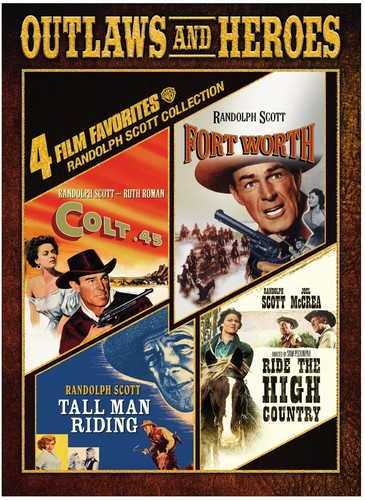 4 Film Favorites: Randolph Scott Westerns