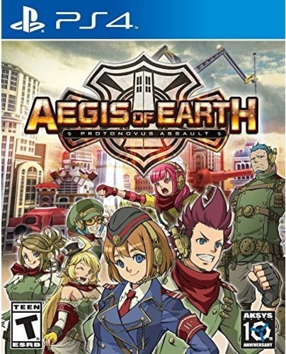 Aegis of Earth: Protonovus Assault for PlayStation 4