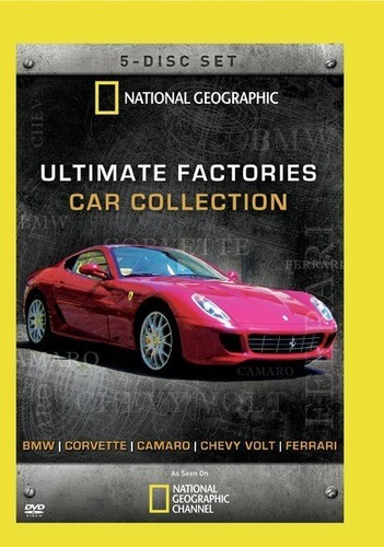 Ultimate Factories Car Collection, Vol. 1