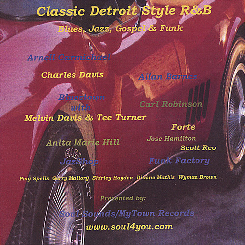 Classic Detroit Style R&B /  Various