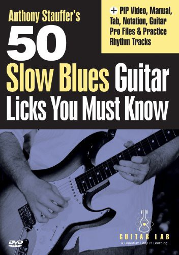 50 Slow Blues Licks You Must Know
