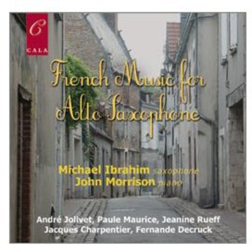 French Music for Alto Saxophone