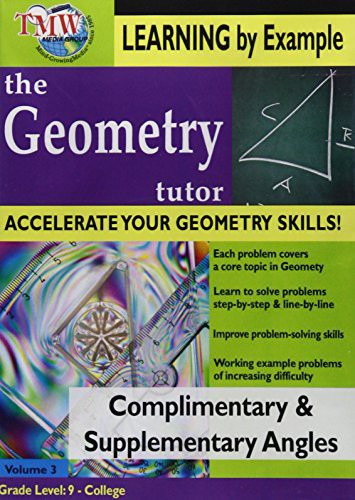 Complimentary & Supplementary Angles: Geometry