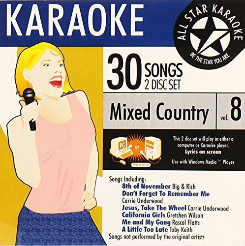Karaoke: Mixed Country, Vol. 8
