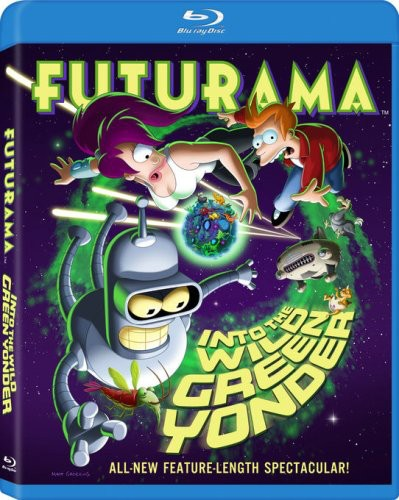 Futurama: Into The Wild Green Yonder [Widescreen]