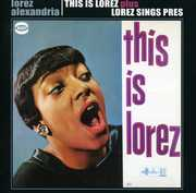 This Is Lorez /  Lorez Sings Pres [Import]