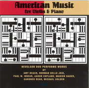 American Music for Violin & Piano