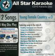 Karaoke: Young Female Country, Vol. 3