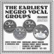 Earliest Negro Vocal Groups 4 /  Various