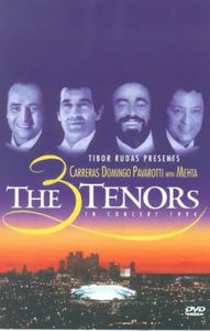 Les 3 Tenors en Concert a los Angel (Pal/ Region 2)