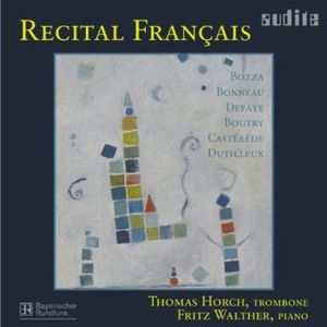 Recital Francais: Music for Trombone & Piano