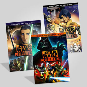 Star Wars Rebels Collection: Seasons 1-3