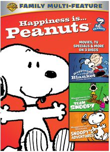 Happiness Is Peanuts: 3 Pack of Fun