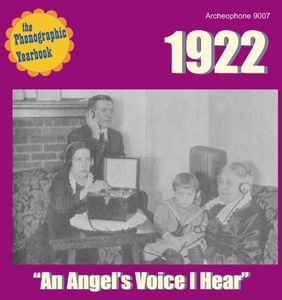 Phonographik Yearbook 1922: Angel's Voice /  Various