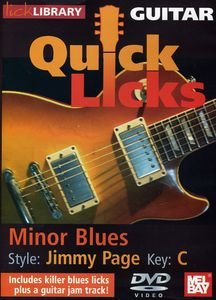 Quick Licks: Jimmy Page Minor Blues - Key C
