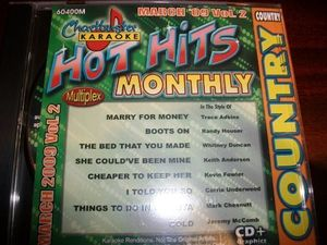 Karaoke: Hot Hits Country - March 2009, Vol. 2