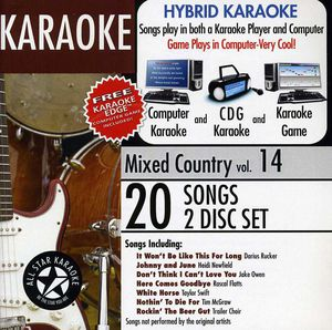 Karaoke: Mixed Country, Vol. 14