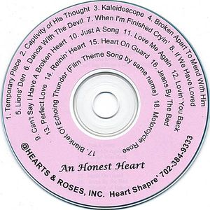 Heart Shapre' : Honest Heart