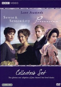 Sense and Sensibility [2008]/ Persuasion [2007] [WS] [Collector's Set][Deluxe Edition Gift Set] [3 Discs]