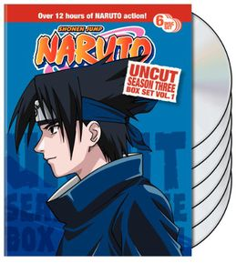 Naruto Uncut Season 3, Vol. 1 Box Set [Full Frame] [6 Discs]