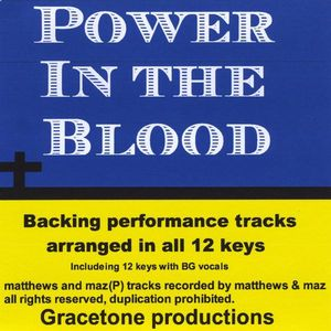 Power in the Blood Backing Performance Tracks