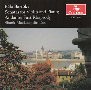 Sonatas for Violin & Piano: Andante, First Rhapsody