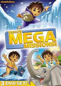 Diego's Mega Mission [Full Frame] [Box Set] [3 Discs] [Slipsleeve]