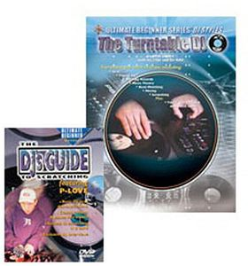 Ultimate Beginner Mega Pak: DJ Style - Turntable
