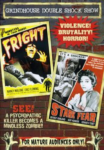 Grindhouse Double Feature: Fright/ Stark Fear [B&W]