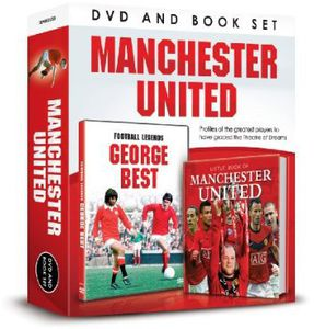 Manchester United-DVD & Book Gift Set