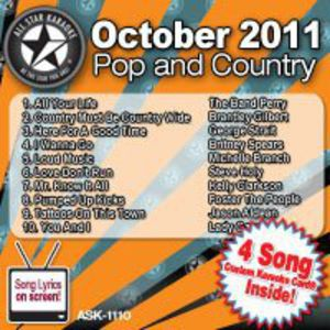 Karaoke: November 2011 Pop and Country
