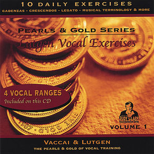 Lutgen Vocal Exercise 1: For Low Medium & Mezzo