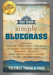Country Family Reunion:  Simple Bluegrass, Vol. 3-4
