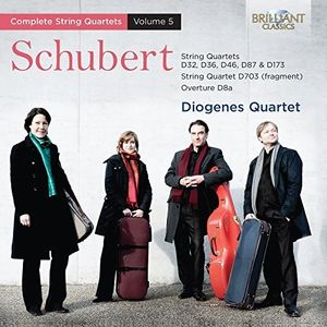 Schubert: String Quartets, Vol. 5