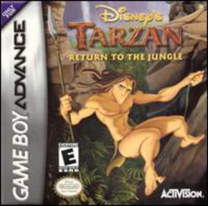 Disney's Tarzan for Gameboy Advanced
