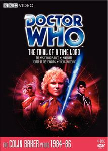 Doctor Who: The Trial Of A Time Lord - Episode 144-147 [Standard] [4 Discs] [Restored] [Remastered] [Box Set] [Slipcase] [Limited Edition] [Collector's Edition]