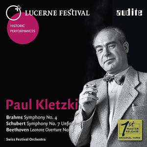 Paul Kletzki Conducts Brahms Schubert & Beethoven