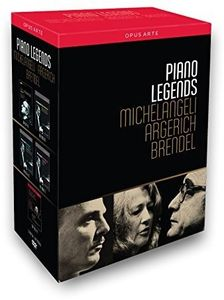 Piano Legends - Michelangeli, Argerich & Brendel [Box Set]