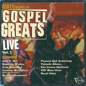 Gospel Greats Live, Vol. 1